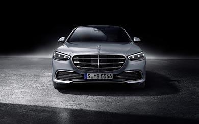 2021 Mercedes-Benz S-Class wallpaper thumbnail.