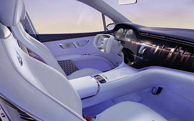 2021 Mercedes-Maybach EQS SUV Concept wallpaper thumbnail.