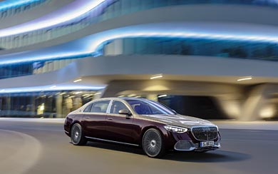 2021 Mercedes-Maybach S580 wallpaper thumbnail.