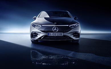 2022 Mercedes-Benz EQS wallpaper thumbnail.