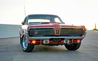 1968 Mercury Cougar XR-7 wallpaper thumbnail.