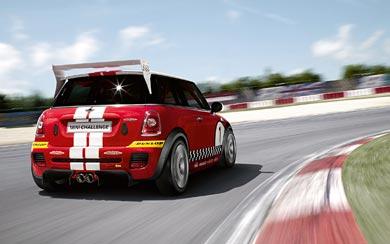 2008 Mini Cooper S Challenge wallpaper thumbnail.