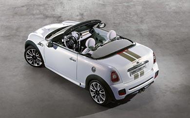 2009 Mini Roadster Concept wallpaper thumbnail.
