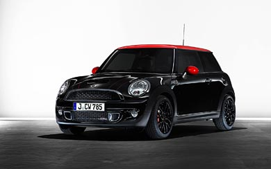 2010 Mini John Cooper S Works wallpaper thumbnail.