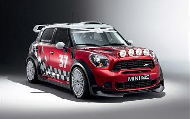 2011 Mini WRC wallpaper thumbnail.