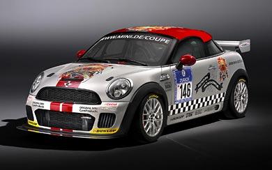 2011 Mini Coupe Endurance wallpaper thumbnail.