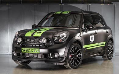 2013 Mini John Cooper Works Countryman ALL4 Dakar wallpaper thumbnail.