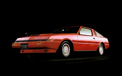 1982 Mitsubishi Starion Turbo wallpaper thumbnail.