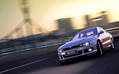 1996 Mitsubishi Galant wallpaper thumbnail.