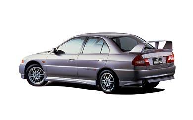1996 Mitsubishi Lancer GSR Evolution IV wallpaper thumbnail.