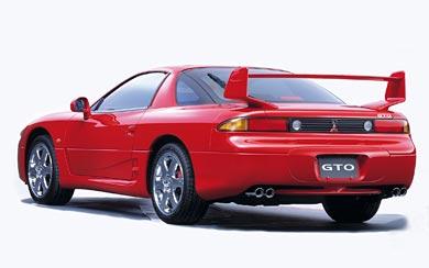 1998 Mitsubishi 3000GT wallpaper thumbnail.