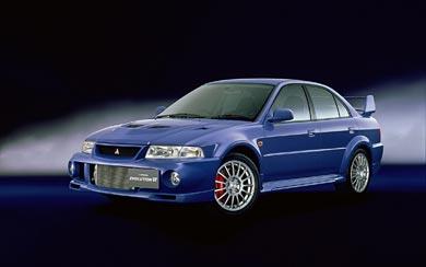 1999 Mitsubishi Lancer GSR Evolution VI wallpaper thumbnail.