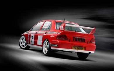 2001 Mitsubishi Evolution VII WRC wallpaper thumbnail.