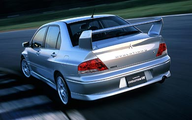 2001 Mitsubishi Lancer GSR Evolution VII wallpaper thumbnail.