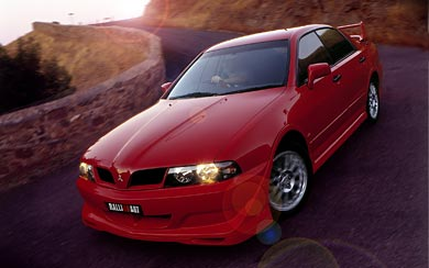2002 Mitsubishi Magna Ralliart wallpaper thumbnail.