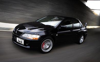 2005 Mitsubishi Lancer Evolution IX wallpaper thumbnail.