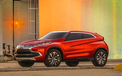 2014 Mitsubishi XR-PHEV Concept wallpaper thumbnail.