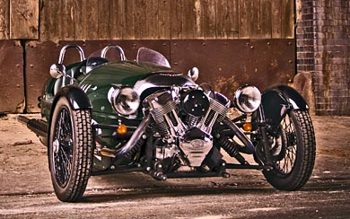 2011 Morgan 3 Wheeler wallpaper thumbnail.