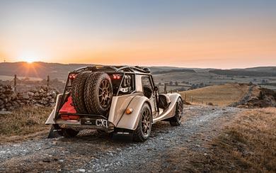 2021 Morgan Plus Four CX-T wallpaper thumbnail.