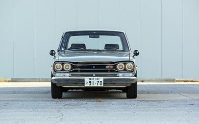 1969 Nissan Skyline 2000GT-R Sedan wallpaper thumbnail.