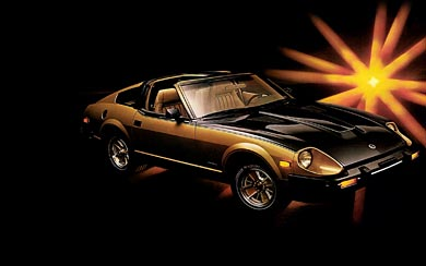 1980 Nissan 280ZX wallpaper thumbnail.