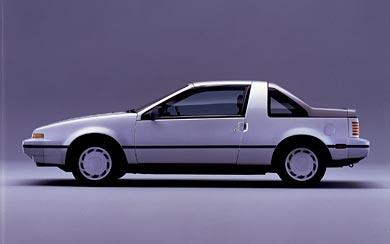1986 Nissan EXA wallpaper thumbnail.