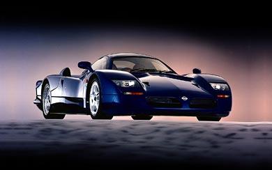 1998 Nissan R390 GT1 wallpaper thumbnail.