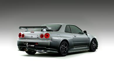 2001 Nissan Skyline R34 GT-R Nismo wallpaper thumbnail.