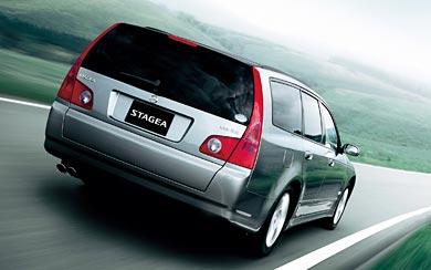 2001 Nissan Stagea wallpaper thumbnail.