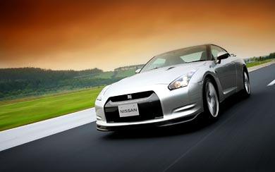 2008 Nissan GT-R wallpaper thumbnail.