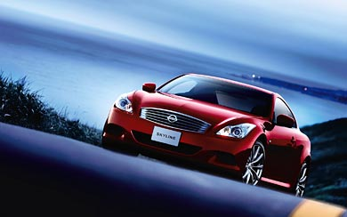 2008 Nissan Skyline Coupe 370GT wallpaper thumbnail.