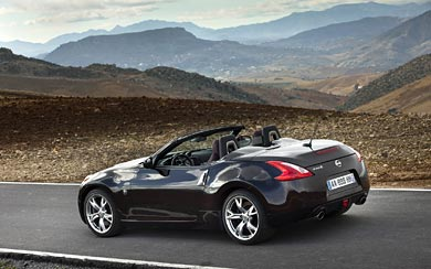 2009 Nissan 370Z Roadster wallpaper thumbnail.