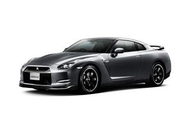 2010 Nissan GT-R Spec V wallpaper thumbnail.