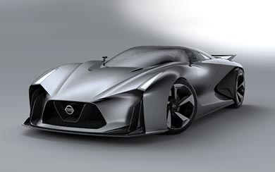 2014 Nissan 2020 Vision Gran Turismo Concept wallpaper thumbnail.