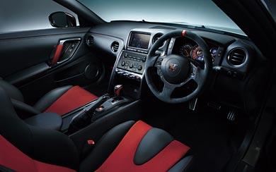 2015 Nissan GT-R Nismo wallpaper thumbnail.