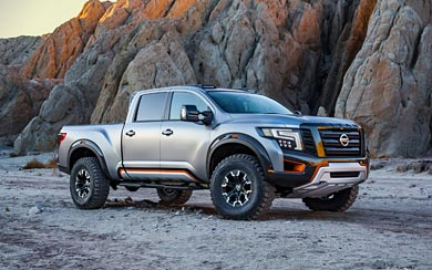 2016 Nissan Titan Warrior Concept wallpaper thumbnail.