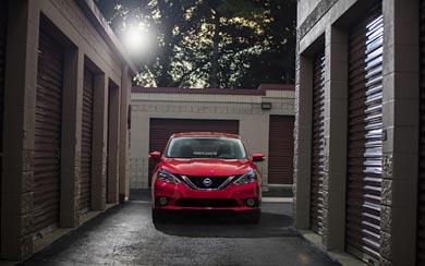 2017 Nissan Sentra SR Turbo wallpaper thumbnail.