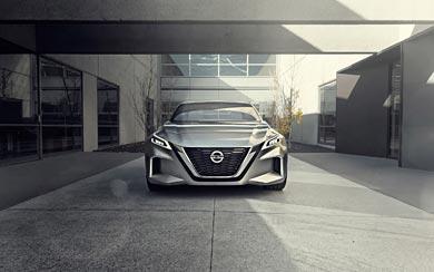 2017 Nissan Vmotion 2.0 Concept wallpaper thumbnail.