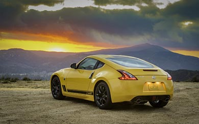2018 Nissan 370Z Heritage Edition.
