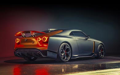 2018 Nissan GT-R50 by Italdesign Concept wallpaper thumbnail.