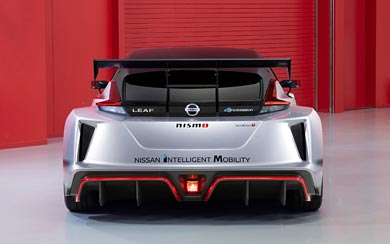 2018 Nissan Leaf Nismo RC Concept wallpaper thumbnail.