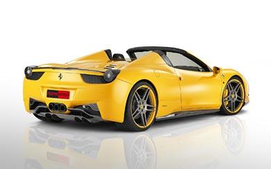 2012 Novitec Rosso Ferrari 458 Spider wallpaper thumbnail.