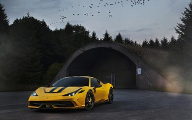 2014 Novitec Rosso Ferrari 458 Speciale wallpaper thumbnail.