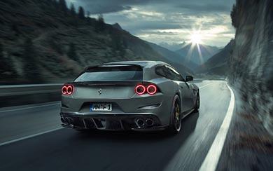 2017 Novitec Rosso Ferrari GTC4 Lusso wallpaper thumbnail.