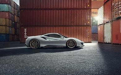 2019 Novitec Ferrari 488 Pista wallpaper thumbnail.
