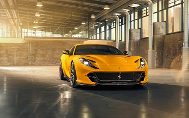 2019 Novitec Ferrari 812 Superfast wallpaper thumbnail.