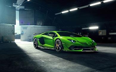 2019 Novitec Lamborghini Aventador SVJ wallpaper thumbnail.