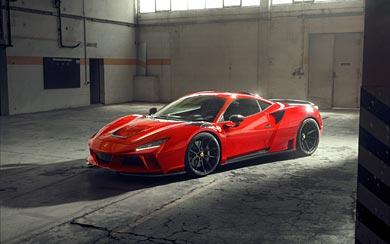 2021 Novitec Ferrari F8 Tributo N-Largo wallpaper thumbnail.