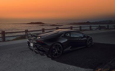2021 Novitec Lamborghini Huracan EVO RWD wallpaper thumbnail.