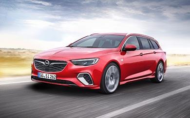 2018 Opel Insignia GSi Sports Tourer wallpaper thumbnail.